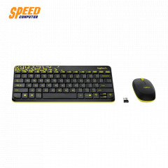 LOGITECH MK240 KEYBOARD+MOUSE NANO WIRELESS ขนาดเล็ก 2.4 GHZ BLACK 3YEAR //