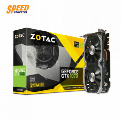 ZOTAC VGACARD GEFORCE GTX1070 MINI 8GB 256BIT GDDR5 OUTPUT HDMI/3 X DisplayPort/Dual-link DVI