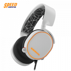 STEELSERIES HEADSET ARCTIS 5 WHITE 7.1 SURROUND PRISM RGB JACK 3.5MM.& USB PORT MAC/PC/XBOX/PS/MOBIEL/VR