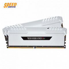 CORSAIR RAM PC 16GB (8*2) DDR4 BUS3200 VENGEANCE RGB WHITE