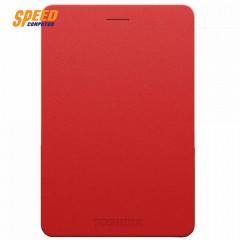 TOSHIBA HDTH310YR3AA HARDDISK EXTERNAL Canvio Alumy Portable Hard Drive 1TB Red