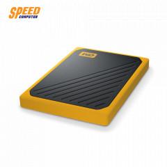 WESTERN WDBMCG0010BYT-WESN BLACK-YELLOW HDD EXTERNAL GO PORTABLE SSD 1TB USB 3.0 SPEED 400M/s 3 YEARS