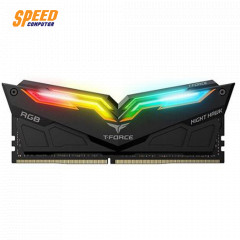 T-FORCE RAM PC NIGHT HAWK BLACK RGB16GB 8*2 BUS3200
