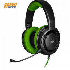 CORSAIR GAMING HEADSET HS35 STEREO GREEN 3.5MM