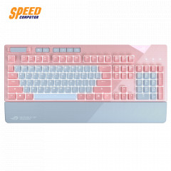 ASUS GAMING KEYBOARD ROG STRIX FLARE AURA SYNC CHRRY BLUE SW PINK