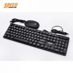 OKER KB-4018 KEYBORD + MOUSE USB SET