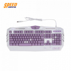 NEOLUTION E-SPORT KEYBOARD GAMING BNK48 PURPLE RAINBOW LED WITH UC  COATING