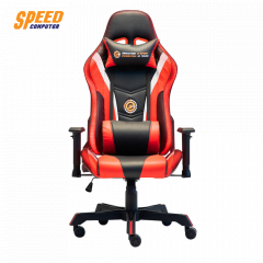 NEOLUTION E-SPORT GAMING CHAIR RED LED ORACLE BLACK RED