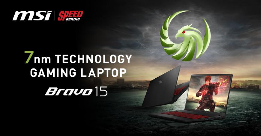 MSI เปิดตัว Bravo 15 มาพร้อม CPU AMD Ryzen™ 4000 H Series